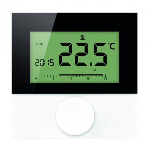 Alpha Regler direct Standard LCD 230V mit Designscheibe