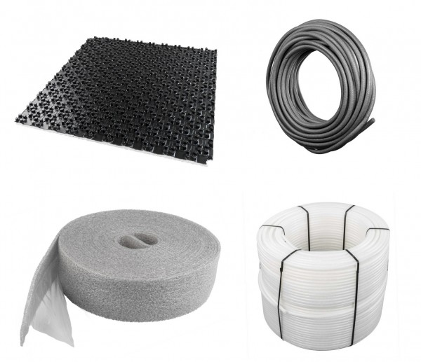 Noppenplattensystem Komplettset 30-2 mm Wärme-Trittschalldämmung